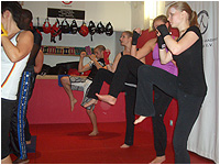 Defense-Aerobic Thaiboxen